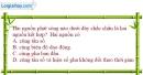 Bài 8.1, 8.2 trang 21 SBT Vật Lí 12