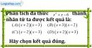 Bài 9.2 phần bài tập bổ sung trang 11 SBT toán 8 tập 1