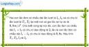 Bài I.11 trang 17 SBTVật Lí 12