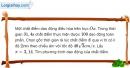 Bài I.15 trang 17 SBT Vật Lí 12