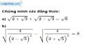 Bài 98 trang 22 SBT toán 9 tập 1
