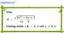 Bài 99 trang 22 SBT toán 9 tập 1