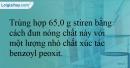 Bài 14.14 trang 32 SBT Hóa học 12