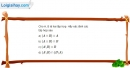 Bài 1.44 trang 19 SBT đại số 10
