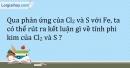 Bài 25.9* Trang 31 SBT Hóa học 9