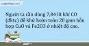 Bài 28.6 Trang 35 SBT Hóa học 9