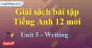 Writing - trang 39 Unit 5 SBT Tiếng anh 12 mới