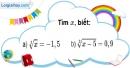 Bài 89 trang 20 SBT toán 9 tập 1