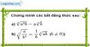Bài 90 trang 20 SBT toán 9 tập 1