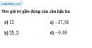 Bài 91 trang 20 SBT toán 9 tập 1