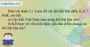 Câu 3 trang 8 SBT địa 8