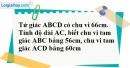 Bài 1.3 phần bài tập bổ sung trang SBT toán lớp 8 tập 1