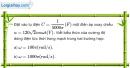 Bài 13.11 trang 37 SBT Vật Lí 12