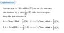 Bài 13.4, 13.5, 13.6 trang 36 SBT Vật Lí 12