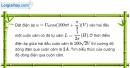 Bài 13.9 trang 37 SBT Vật Lí 12