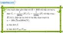Bài 14.14 trang 41 SBT Vật Lí 12