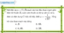 Bài 14.6, 14.7 trang 39 SBT Vật Lí 12