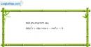 Bài 1.49 trang 40 SBT đại số và giải tích 11
