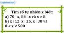 Bài 201 trang 31 SBT toán 6 tập 1