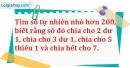 Bài 202 trang 32 SBT toán 6 tập 1