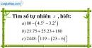 Bài 203 trang 32 SBT toán 6 tập 1