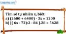 Bài 204 trang 32 SBT toán 6 tập 1