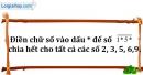 Bài 209 trang 32 SBT toán 6 tập 1