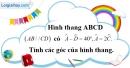 Bài 2.2 phần bài tập bổ sung trang 82 SBT toán 8 tập 1
