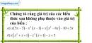 Bài 4 trang 5 SBT toán 8 tập 1