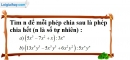 Bài 46 trang 12 SBT toán 8 tập 1