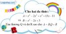 Bài 50 trang 13 SBT toán 8 tập 1