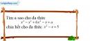 Bài 51 trang 13 SBT toán 8 tập 1