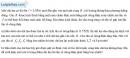 Bài 9.12 trang 25 SBT Vật Lí 12