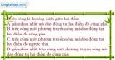 Bài II.1, II.2, II.3 trang 30 SBT Vật Lí 12