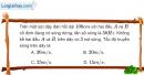 Bài II.10, II.11 trang 31 SBT Vật Lí 12