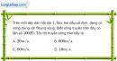 Bài II.6, II.7 trang 30 SBT Vật Lí 12