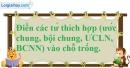 Bài 18.1 phần bài tập bổ sung trang 31 SBT toán 6 tập 1