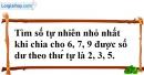 Bài 18.3 phần bài tập bổ sung trang 31 SBT toán 6 tập 1