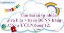 Bài 18.5 phần bài tập bổ sung trang 31 SBT toán 6 tập 1