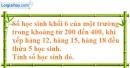 Bài 216 trang 33 SBT toán 6 tập 1