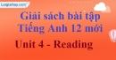 Reading - trang 29 Unit 4 SBT Tiếng anh 12 mới