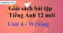 Writing - trang 32 Unit 4 SBT Tiếng anh 12 mới