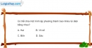 Bài 1.39 trang 21 SBT hình học 12