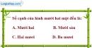 Bài 1.43 trang 21 SBT hình học 12