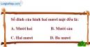 Bài 1.44 trang 22 SBT hình học 12
