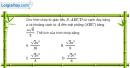 Bài 1.52 trang 23 SBT hình học 12