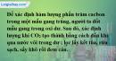 Bài 15.6 trang 23 SBT hóa học 11