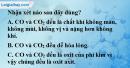 Bài 16,1, 16.2 trang 23 SBT hóa học 11