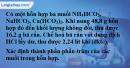 Bài 16.6 trang 24 SBT hóa học 11