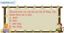 Bài 10.1 trang 23 SBT Vật lí 7